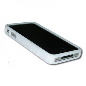 Купить Белый силиконовый чехол для iPhone 4