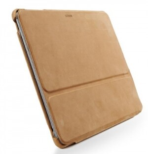 SGP Leather Case Stehen Series Vintage Brown для iPad 2