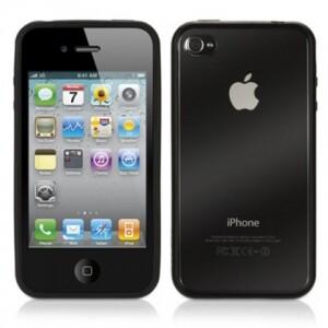 GRIFFIN чехол Reveal Black для iPhone 4