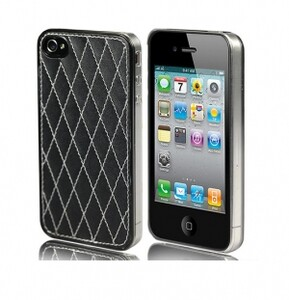 Купить Накладка DIAMOND BLACK для iPhone 4