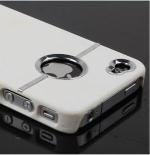 SGP Белый чехол для iPhone 4