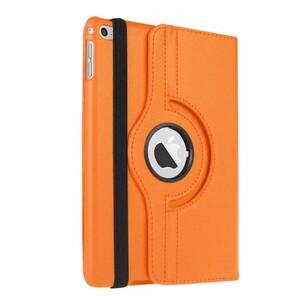 Купить Кожаный чехол 360 Rotating для iPad mini 4 Оранжевый