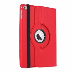 Купить Кожаный чехол 360 Rotating для iPad mini 4 Красный