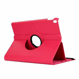 """Купить Кожаный чехол 360 Rotating Hot Pink для iPad Pro 10.5"""""""