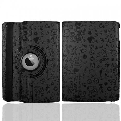 Черный чехол 360 iLoungeMax Cute для iPad mini 4