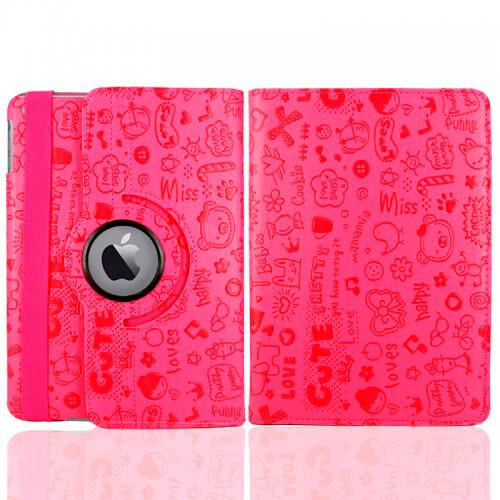Светло-розовый чехол 360 Cute для iPad mini 4