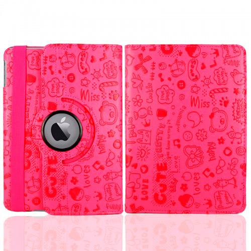 Розовый чехол 360 Cute для iPad mini 4