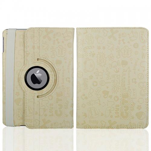 Белый чехол 360 Cute для iPad mini 4