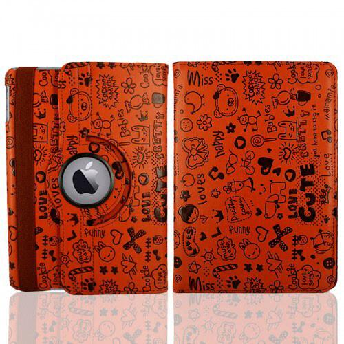 Коричневый чехол 360 Cute для iPad mini 4