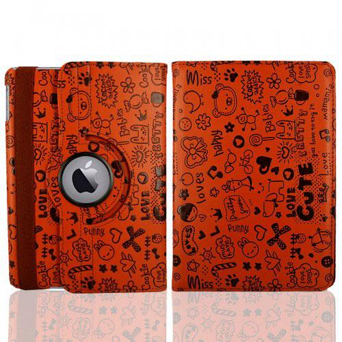 Купить Коричневый чехол 360 oneLounge Cute для iPad mini 4