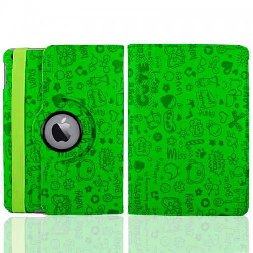 Зелёный чехол 360 Cute для iPad mini 4