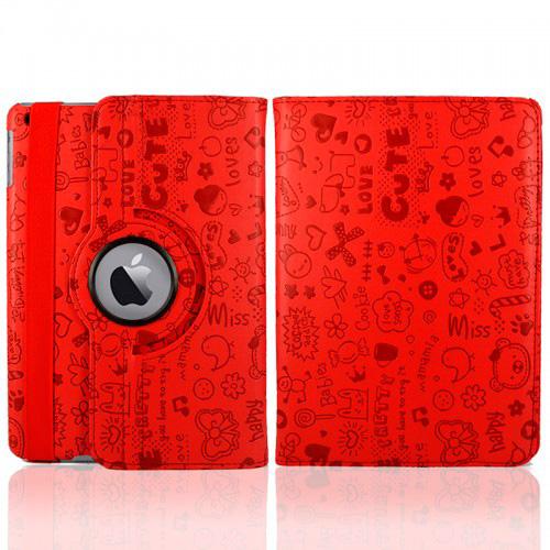 Красный чехол 360 Cute для iPad mini 4