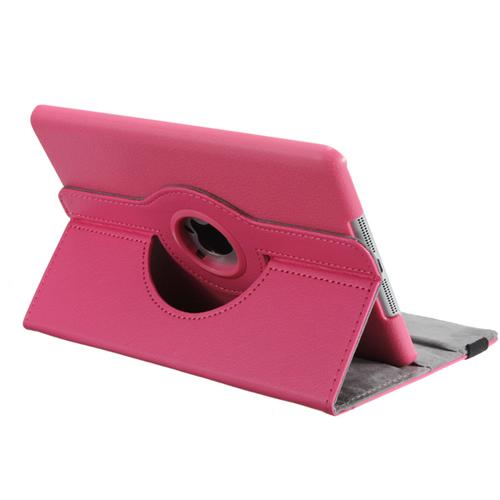 Кожаный чехол 360 iLoungeMax Rotating для iPad mini 3   2   1 Розовый