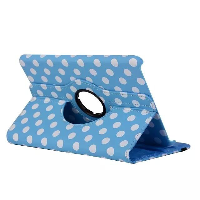 Чехол 360 Polka Dots Голубой для iPad mini 4