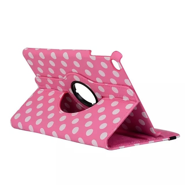 Чехол 360 Polka Dots Розовый для iPad mini 4