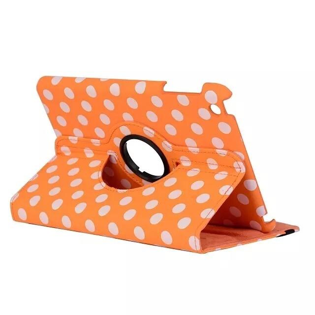 Чехол 360 Polka Dots Оранжевый для iPad mini 4