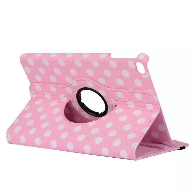 Чехол 360 Polka Dots Светло-розовый для iPad mini 4