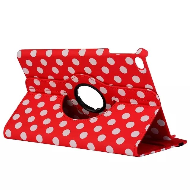 Чехол 360 Polka Dots Красный для iPad mini 4