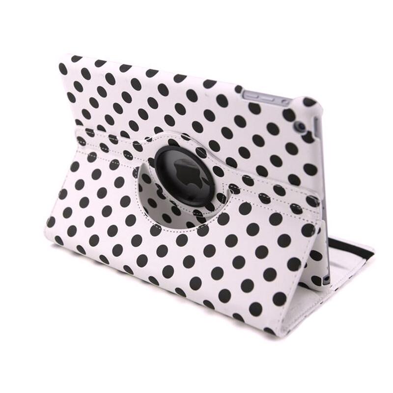 Чехол 360 Polka Dots Белый для iPad mini 4