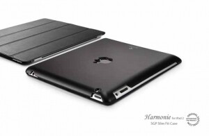 SGP Hard Case Harmonie Series Black для iPad 2