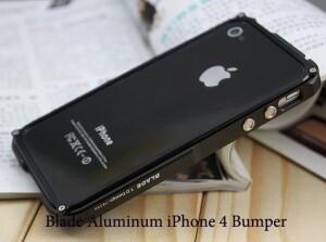 Blade Aluminium Bumper Black для iPhone 4