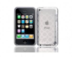 Прозрачный чехол Circle для iPod Touch 4G