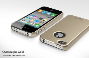 Купить SGP ULTRA THIN Champagne Gold для iPhone 4/4S