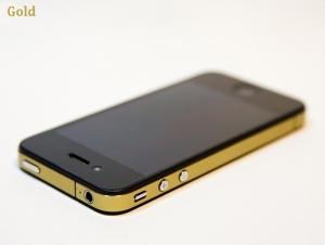 Купить Виниловый набор Gold для iPhone 4