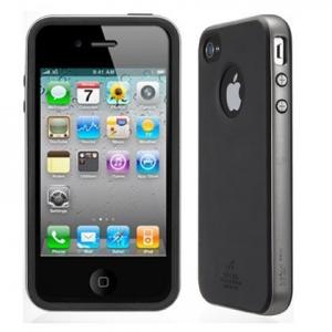 Купить SGP Neo Hybrid Case A Series Gun Metal для iPhone 4/4S