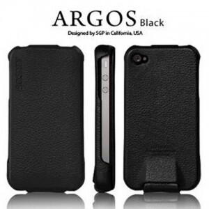 SGP Argos Black для iPhone 4/4S