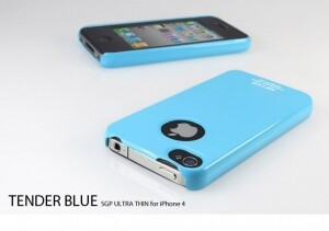 SGP Ultra Thin Case Tender Blue для iPhone 4/4S