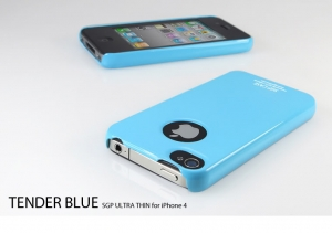 Купить SGP Ultra Thin Case Tender Blue для iPhone 4/4S
