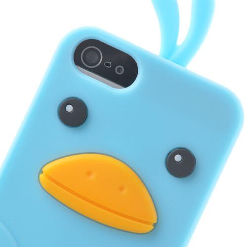 """Силиконовый чехол """"Chicken"""" для iPhone 5/5S/SE"""