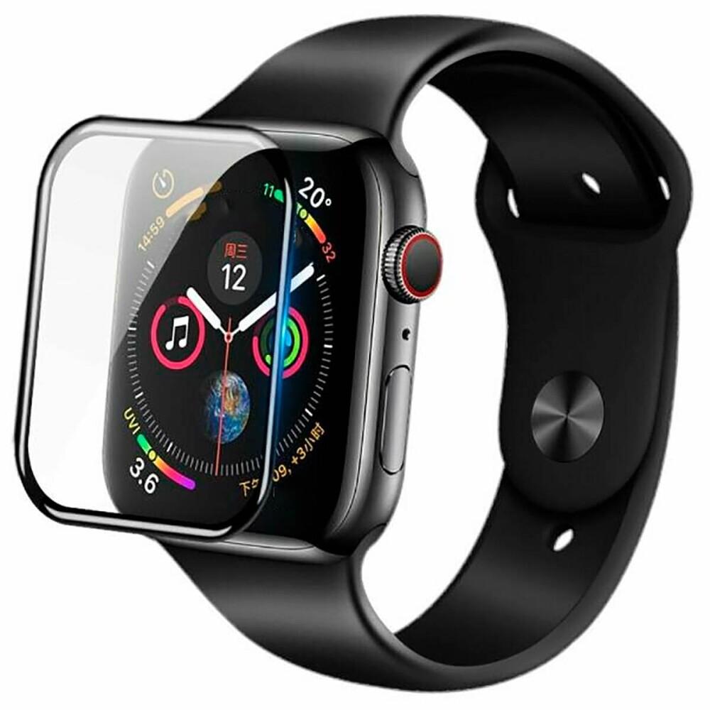 Купить Защитное стекло Nillkin 3D Full Coverage 0.33mm Black для Apple Watch 40mm