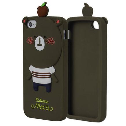3D чехол Momo's Bear для iPhone 5/5S/SE