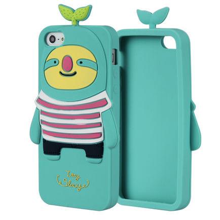 3D чехол Momo's Whale для iPhone 5/5S/SE