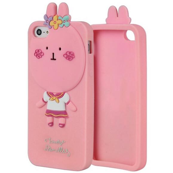 3D чехол Momo's Rabbit для iPhone 5/5S/SE