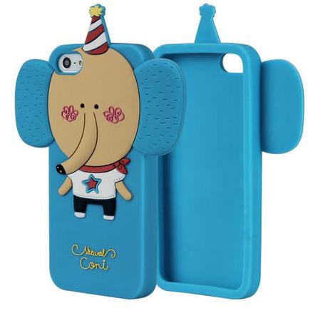 3D чехол Momo's Elephant для iPhone 5/5S/SE