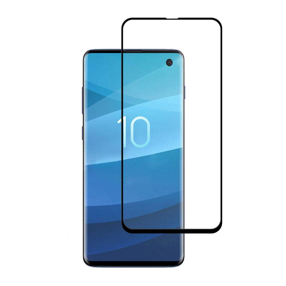 Купить Защитное 3D стекло oneLounge SilicolEdge для Samsung Galaxy S10