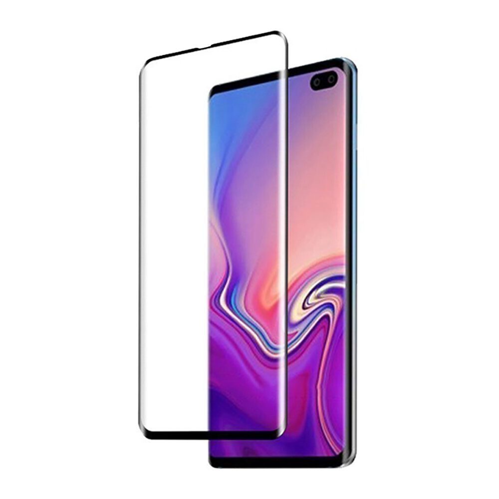 Защитное 3D стекло oneLounge SilicolEdge для Samsung Galaxy S10 Plus