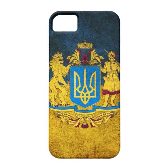 Чехол Bart Maidan с гербом Украины для iPhone 5/5S/SE