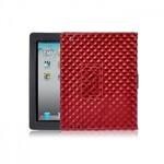 Красный кожаный чехол oneLounge BRUNO для iPad 2/3/4