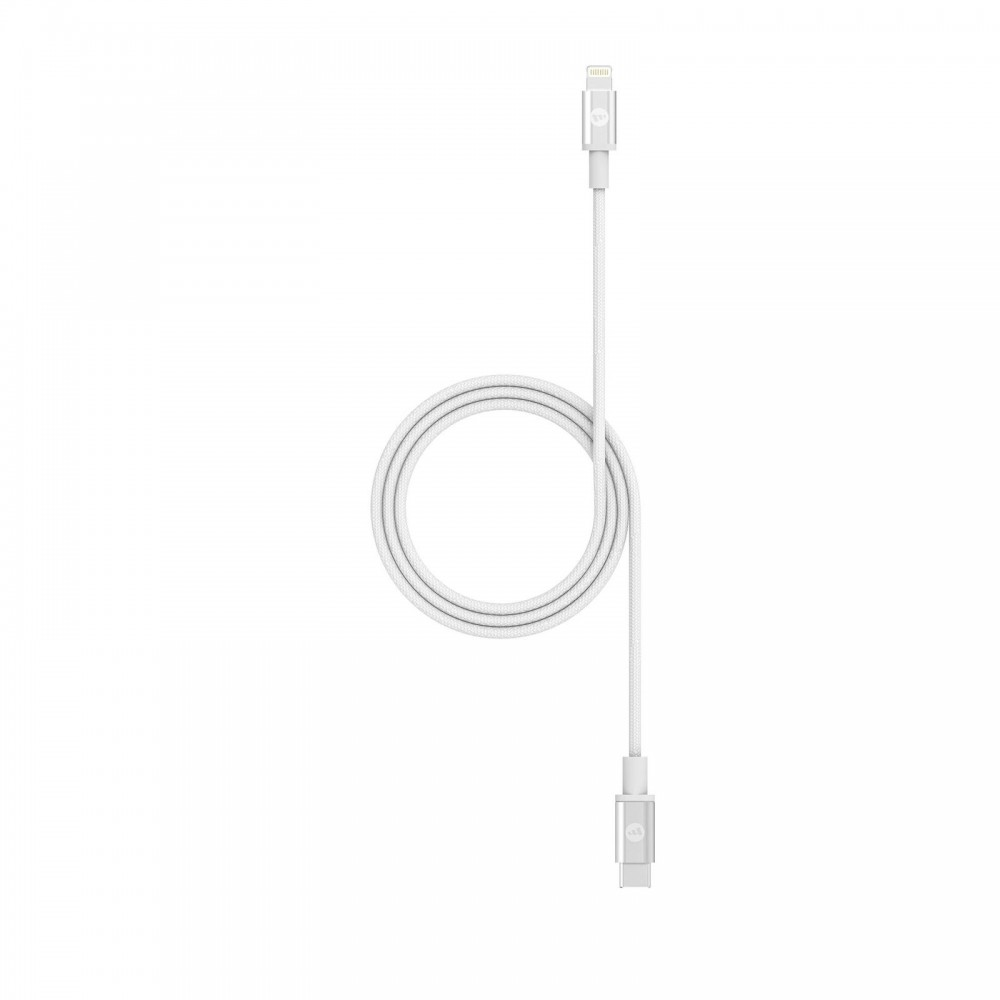 Кабель Mophie Cable USB-C to Lightning White 1m