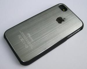 Чехол Aluminium Silver для iPhone 4/4S