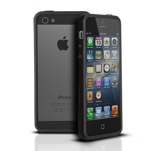 Черный бампер Apple для iPhone 5/5S/SE