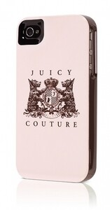 Купить Чехол Juicy Couture New Crest Light Rose для iPhone 4/4S