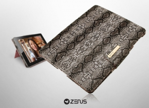 ZENUS Leather Masstige Snake для iPad 2