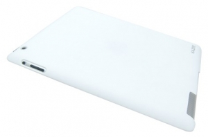 Kazee Hart Color Back Cover White для iPad 2