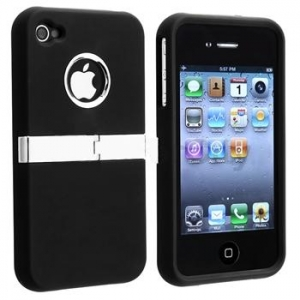 Купить DELUXE Black Case для iPhone 4/4S