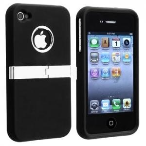 DELUXE Black Case для iPhone 4/4S